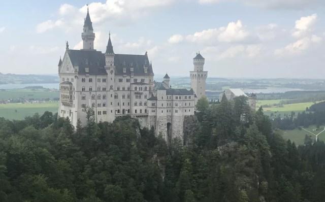 Castelo Neuschwanstein, Schwangau, na Alemanha (Foto: Arquivo pessoal)