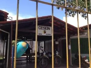Polícia conteu a tempo rebelião de internos no Cesein, em Macapá (Foto: John Pacheco/G1)