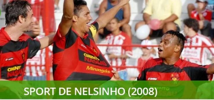 Melhores times brasileiros do século Sport 2008 — Foto: Info Esporte