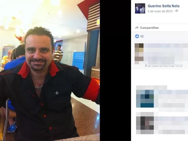 Guerino Solfa Neto era chefe do Setor de Inteligência do Deinter-5 (Foto: Reprodução/Facebook)