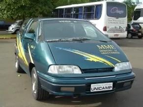 Carro movido a hidrogênio (Foto: Divulgação)