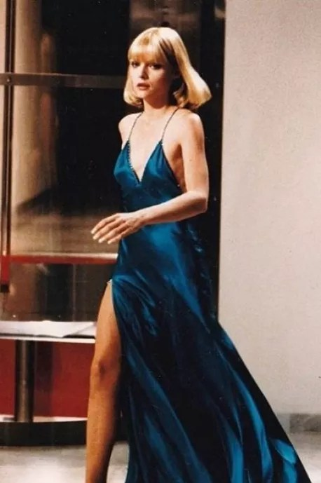 """Michelle Pfeiffer at """"Scarface"""" (Photo: Reproduction)"""