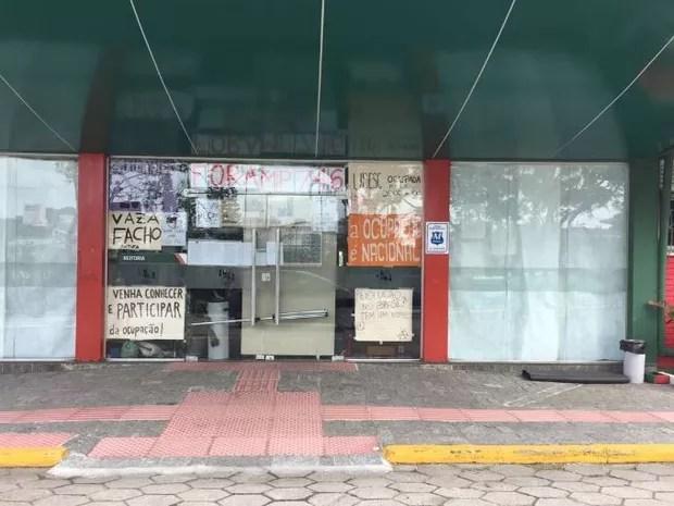Reitoria da Udesc está ocupada desde 25 de outubro (Foto: Udesc/Divulgação)