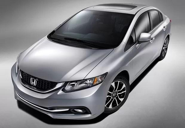 Honda Civic 2013 (Foto: Honda)