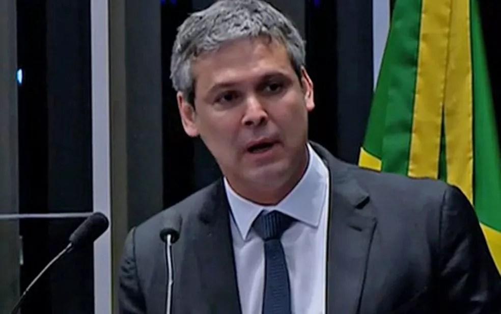 Senador Lindbergh Farias (PT) (Foto: Reprodução/TV Senado)