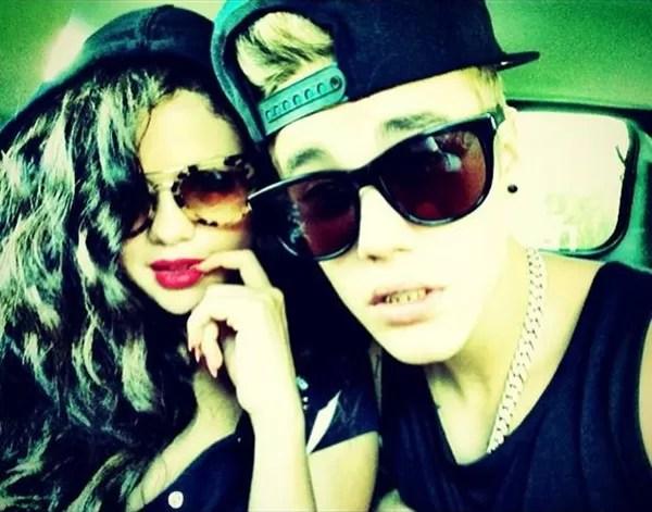 Selena Gomez e Justin Bieber em 2014 (Foto: Twitter)