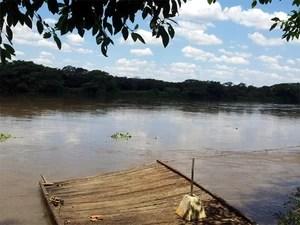 Corpo de menino encontrado no Rio Pardo pode ser de Joaquim (Foto: Analídia Ferri/G1)