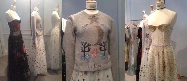 Os detalhes místicos nas peças esvoaçantes de Dior, apresentados na Semana de Moda de Paris.