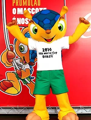 Mascote Copa do Mundo 2014 evento (Foto: EFE)
