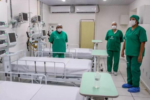 Hospitais em Mato Grosso — Foto: Assessoria