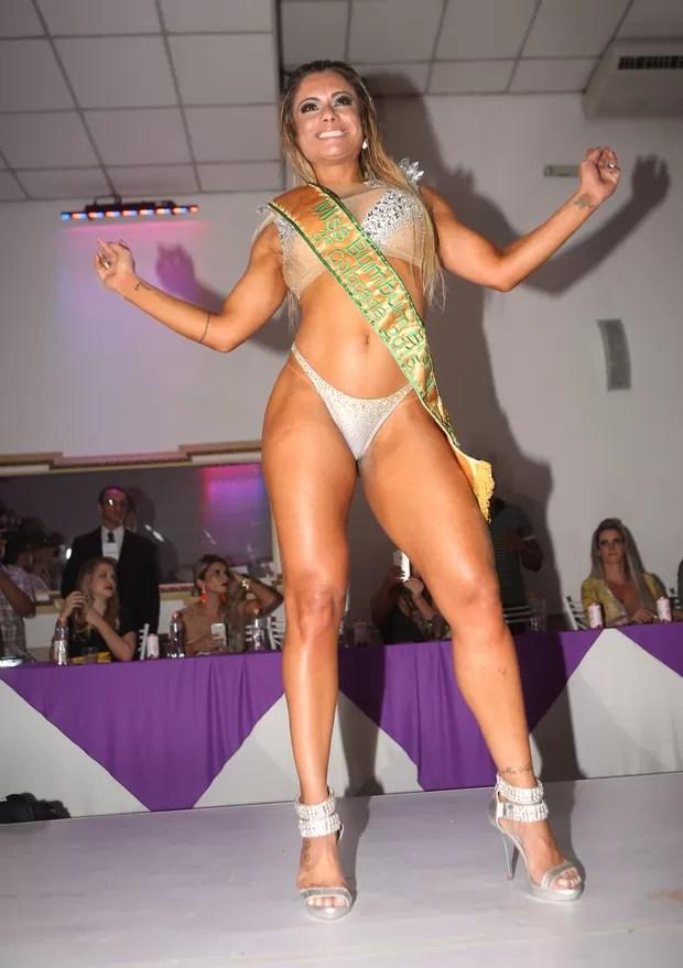 Dani Sperle - terceiro lugar Miss Bumbum (Foto: Iwi Onodera)