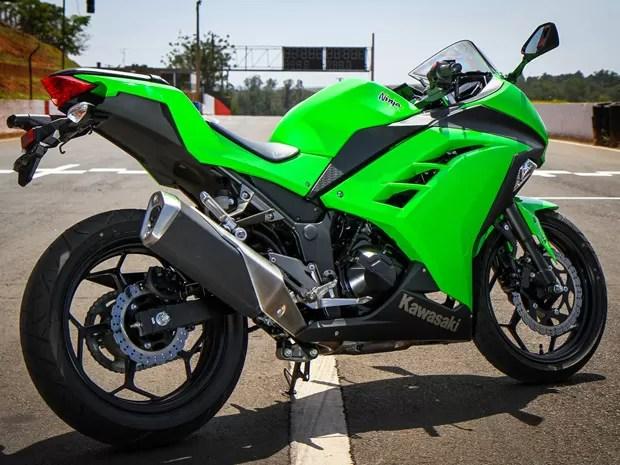 ninja-lateral - Primeiras impressões: Kawasaki Ninja 300