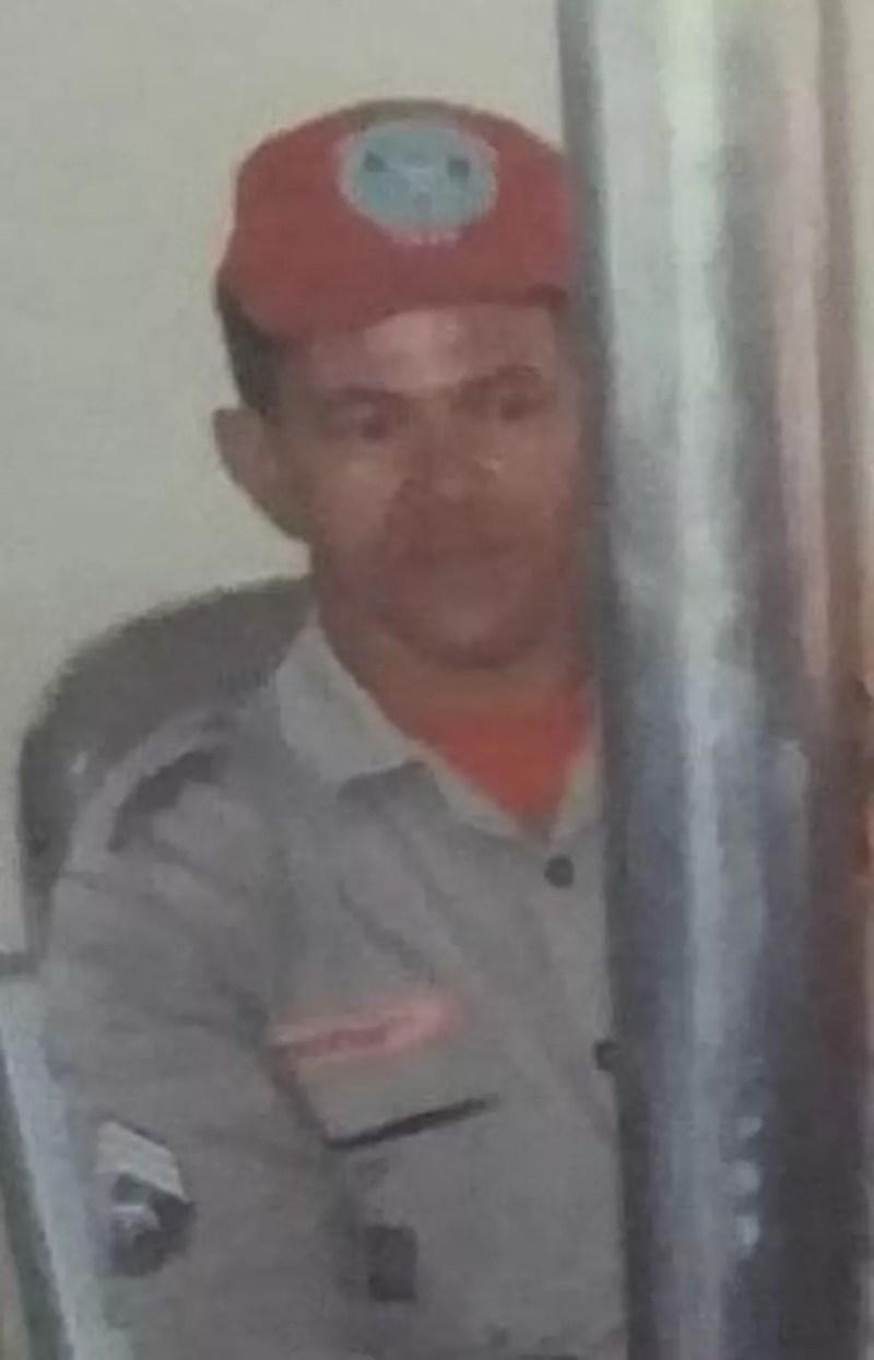 Subtenente Marcelo Nascimento da Silva morreu com Covid-19 em Natal — Foto: Corpo de Bombeiros/Divulgação