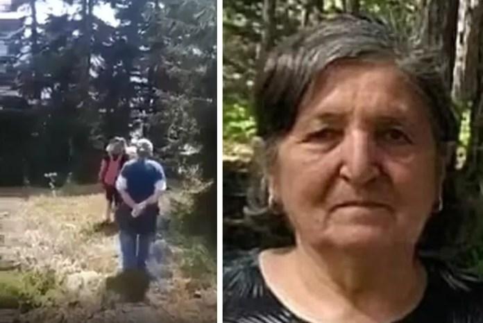 Família estava fazendo um passeio em família; foto da avó à direita (Foto: Reprodução/Daily Mail)