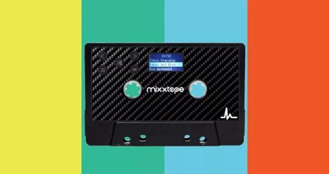 Mixxtape é um player de músicas em forma de fita (Foto: Reprodução/Kickstarter)