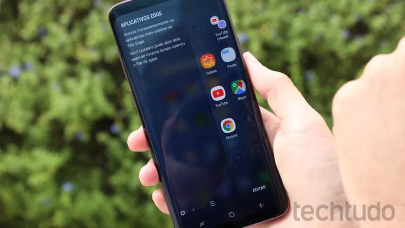 Galaxy S9 Plus tem processador mais rápido (Foto: Luciana Maline/TechTudo)