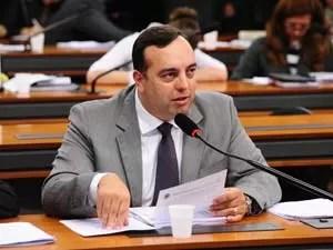 O deputado federal Fernando-Francischini (PSDB-PR) no dia 16 de novembro (Foto: Gustavo Lima/Agência Câmara)
