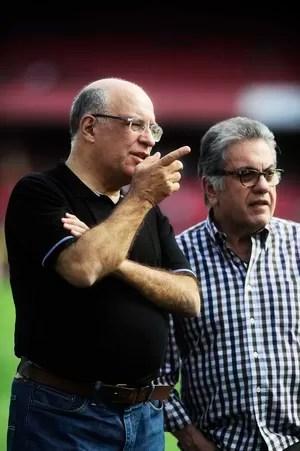 Ataíde Gil Guerreiro e Carlos Miguel Aidar, São Paulo (Foto: Marcos Ribolli)