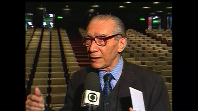 Reis Velloso — Foto: Reprodução/Tv Globo