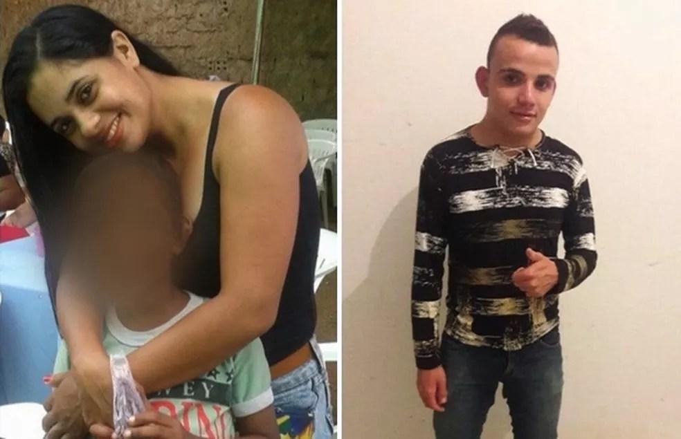 Mãe e padrasto são presos suspeitos de matar menino estrangulado em Goiânia (Foto: Reprodução/TV Anhangura)