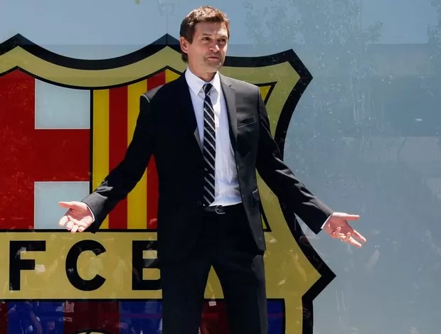 tito vilanova barcelona apresentação (Foto: Agência Reuters)