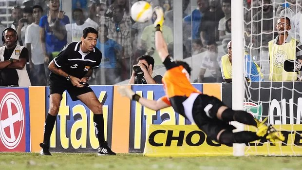 Rafael, goleiro do Santos (Foto: Marcos Ribolli)