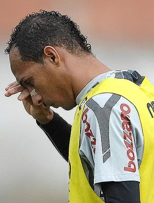 Liedson treino Corinthians (Foto: Agência Estado)