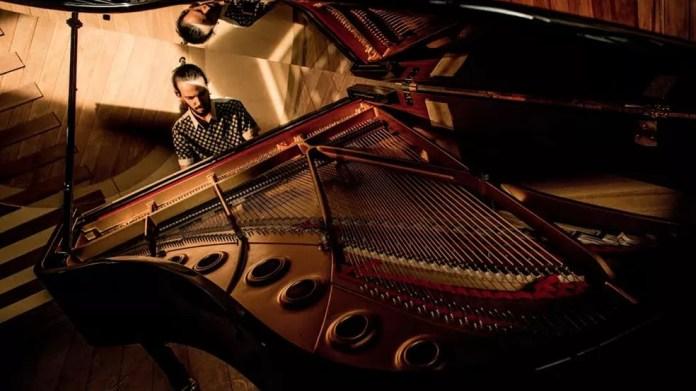 Pianista Salomão Soares — Foto: Luan Cardoso/Divulgação
