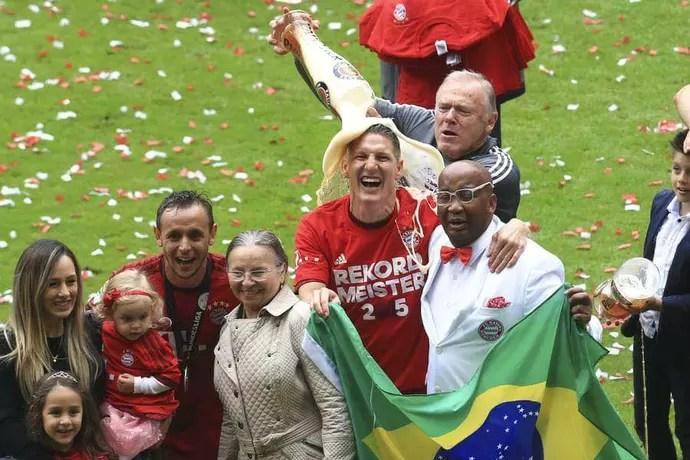Tibúrcio Schweinsteiger Bayern (Foto: Reprodução / Facebook)