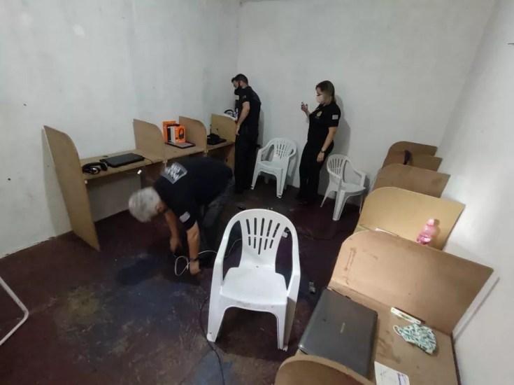 Grupo seria de São Paulo, mas aplicava golpe em diversas cidades do RS — Foto: Polícia Civil/Divulgação