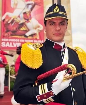 Rodrigo Lombardi grava cenas para a próxima novela das nove (Foto: Rede Globo/João Miguel Júnior)