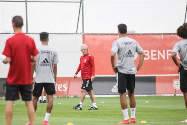 Jorge Jesus comanda primeiro treinamento do Benfica na pré-temporada de 2020/21