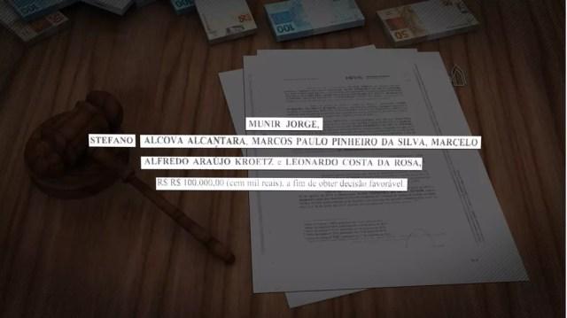 Denúncia do MPE aponta que advogados também participaram de esquema criminoso de venda de sentenças judiciais — Foto: TV Morena/Reprodução
