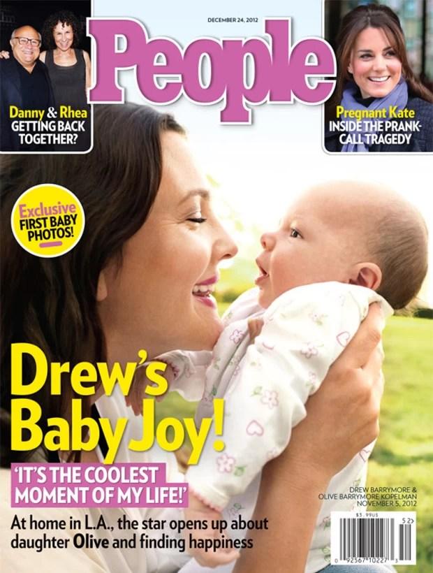 Drew Barrymore  (Foto: Revista People/Reprodução)