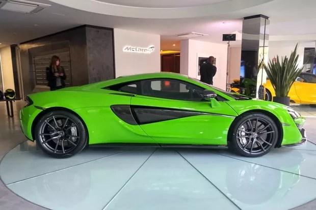McLaren 570S (Foto: Autoesporte)