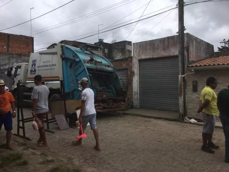 Caso aconteceu na cidade de Santo Antônio de Jesus — Foto: Blog do Valente