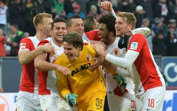 Augsburg x Leverkusen - Marwin Hitz (Foto: AP)