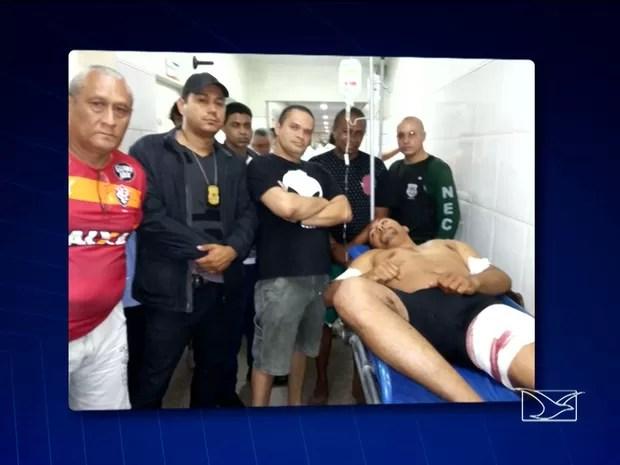 Diretor da Penitenciária de Pedrinhas é alvo de atentado em São Luís (Foto: Reprodução/TV Mirante)