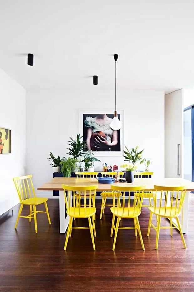 top 10 salas de jantar amarelas (Foto: divulgaçao)