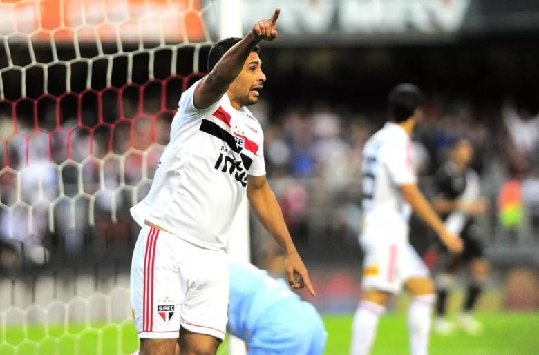 Diego Souza São Paulo x Vasco (Foto: Marcos Ribolli)