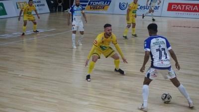 Em jogo eletrizante, Praia e Marechal empatam pela Liga Nacional de Futsal
