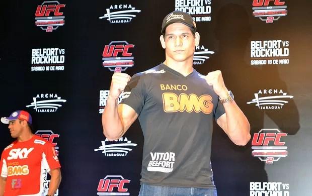 Cezar Mutante UFC coletiva (Foto: Ivan Raupp)
