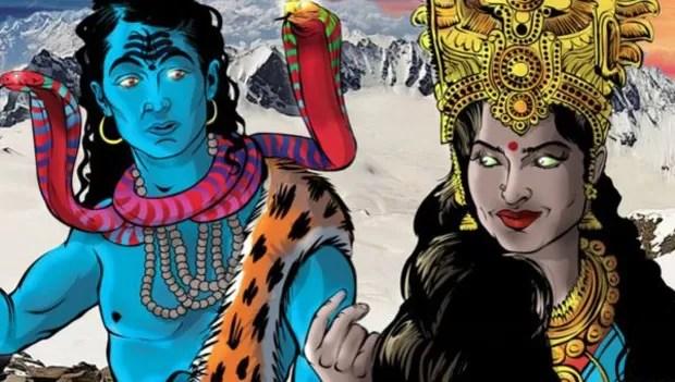 Heroína indiana tem ajuda de deuses da mitologia hindu para superar trauma e vencer adversários (Foto: Divulgação)