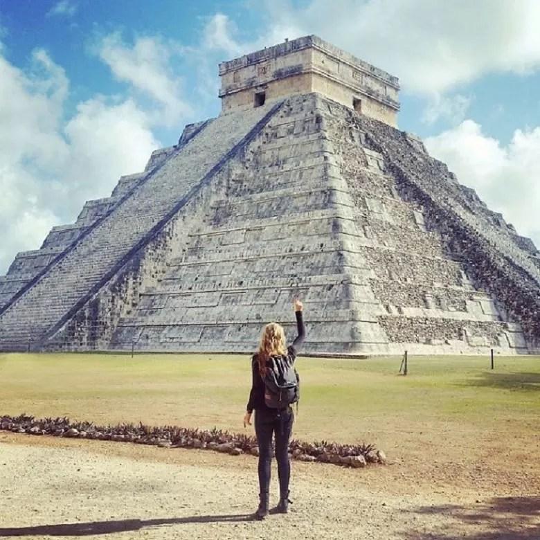 Chichen Itzá (FOTO: ARQUIVO PESSOAL/MEGAN SULLIVAN)