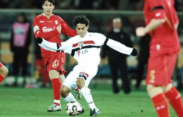Josué, do São Paulo, na final do Mundial contra o Liverpool — Foto: Arquivo Histórico do São Paulo FC