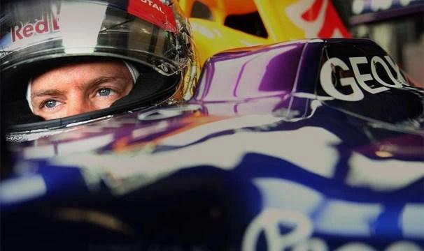 Sebastian Vettel segue na liderança do Mundial (Foto: Getty Images/Reprodução: Globoesporte.com)