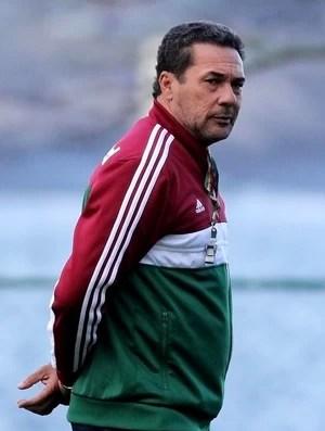 Luxemburgo treino Fluminense (Foto: Fernando Cazaes / Photocâmera)