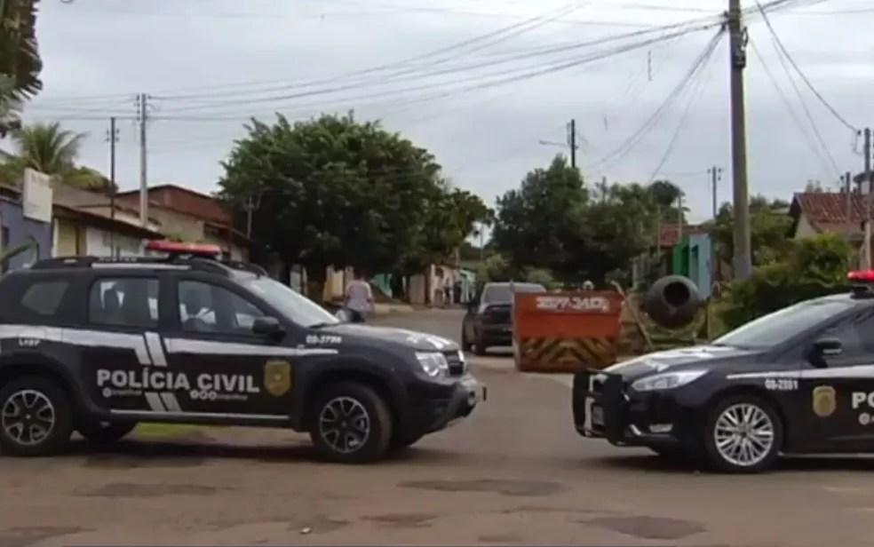 Estado não divulga os números de mortes cometidas por policiais e de oficiais assassinados — Foto: Reprodução/TV Anhanguera