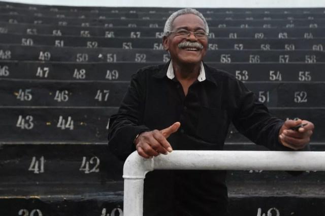 Ex-atacante do Santos, Coutinho morre aos 75 anos  — Foto: Arquivo/A Tribuna de Santos