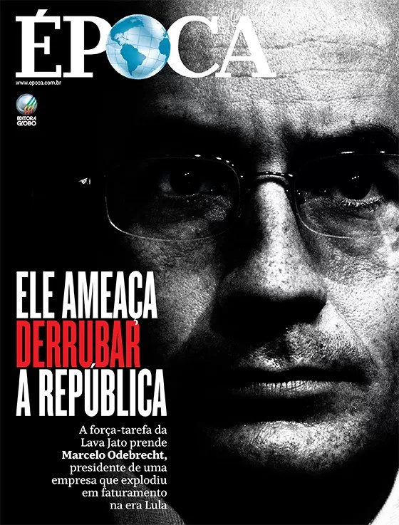 Revista ÉPOCA - capa edição 889 - Ele ameaça derrubar a República (Foto: Revista ÉPOCA/Divulgação)